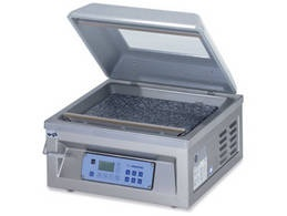 C100G TABLE TOP CHAMBER MACHINE WITH GAS FLUSHING VACUUM PACKING > Machines